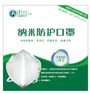 Nanofiber Mebrane – special industry Protective antibacterial mask