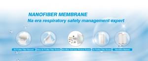 Melt-blown fabric substitute – Nanofiber membrane composite material